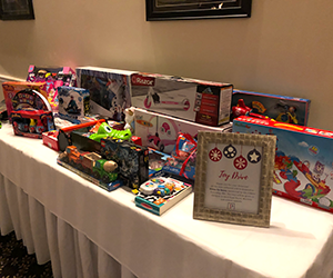 2019 Holiday Party Toy Drive