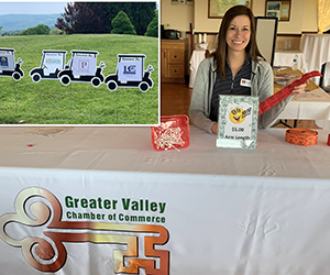 Volunteering at GVCC golf tournament